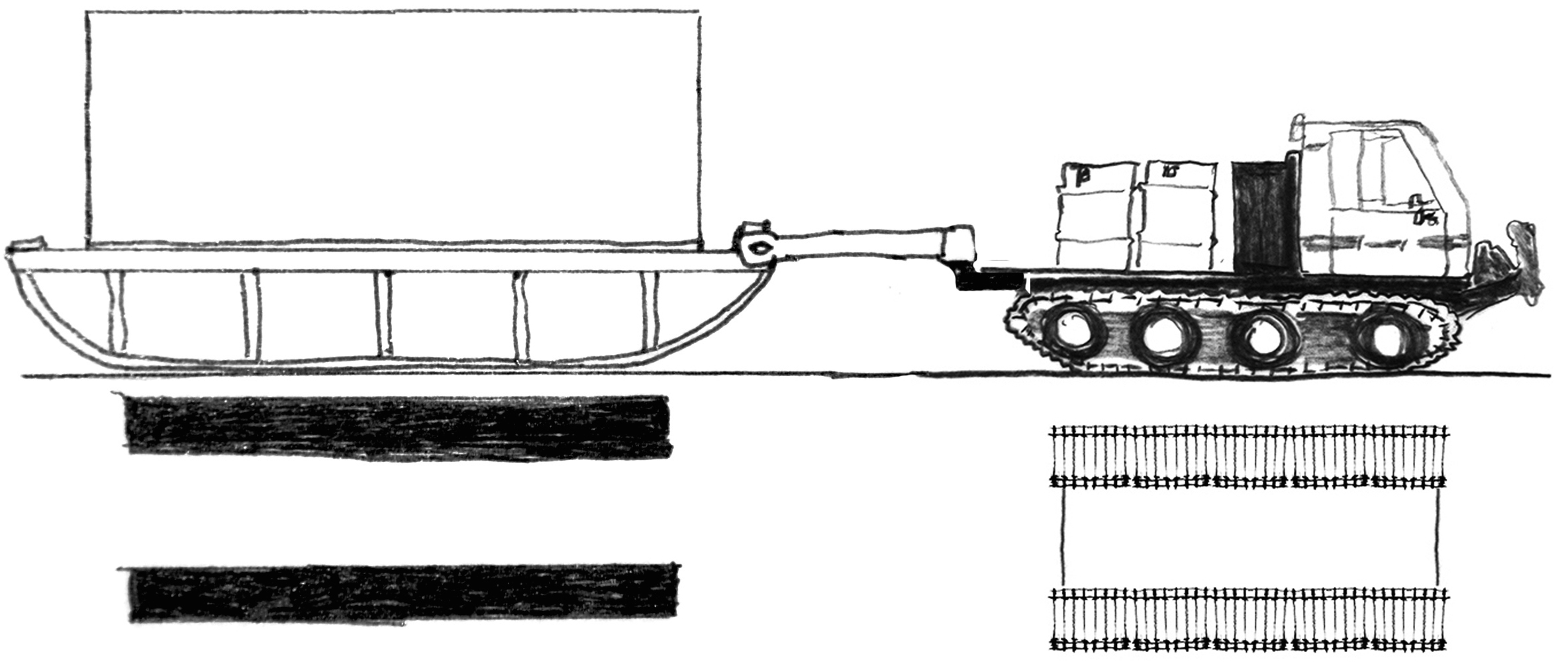 Vehicle and Sled